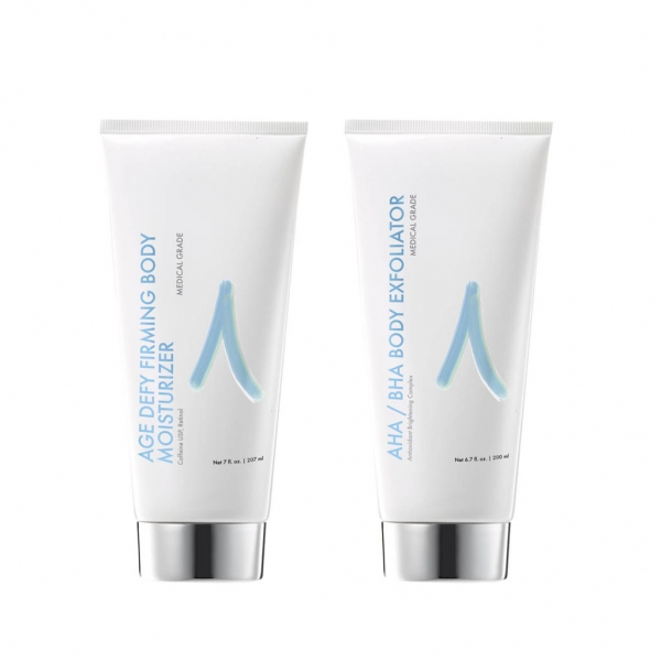 Age Defying Body Lotion and Scrub Medical Grade Skin Care, Adriane Advanced Skincare, Skin Health for Life, Cleansers, Age Defying, Acne, Hydrating, Skin Purifying, and more